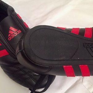Adidas SM II Low Martial Arts MMA Red Black 8.5